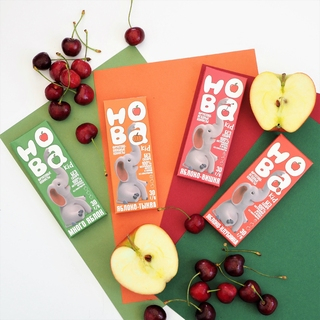Конфеты фруктовые ХОБА яблоко-вишня, 120 гр