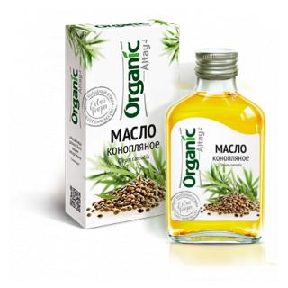 Конопляное масло Organic Altay, 100 мл