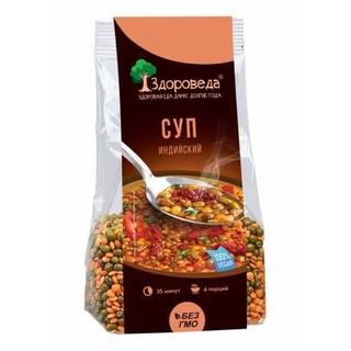 Суп индийский Здороведа Масурдал с машем и красной чечевицей, 250 гр