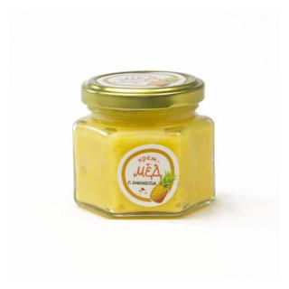 Крем-мёд с ананасом, 150 гр