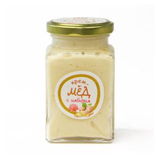 Крем-мёд с имбирем, 300 гр