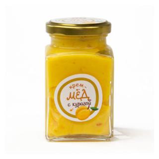 Крем-мёд с курагой, 300 гр