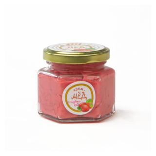 Крем-мёд с клубникой, 150 гр
