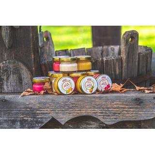 Крем-мёд с клюквой, 45 гр