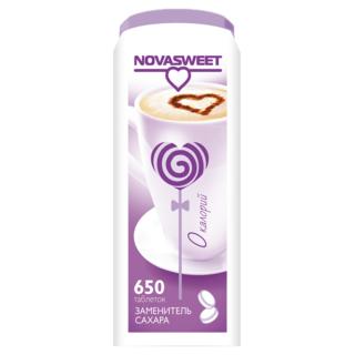 Сахарозаменитель Novasweet 650 таблеток, 39 гр