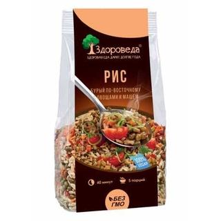 Рис бурый с машем и овощами Здороведа, 250 гр