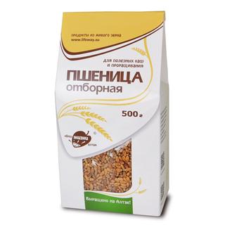 Пшеница отборная Образ жизни Алтая, 500 гр