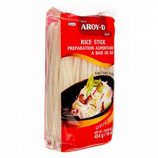 Рисовая лапша Aroy-D 5 мм, 454 гр