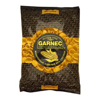 Кукурузные макароны Гарнец ракушки, 300 гр