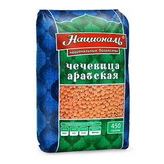 Чечевица арабская красная Националь, 450 гр