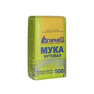 Мука нутовая Гарнец, 500 гр