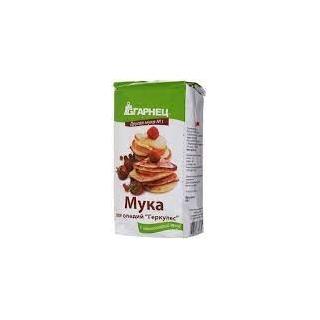 Мука для оладий Гарнец геркулес, 500 гр