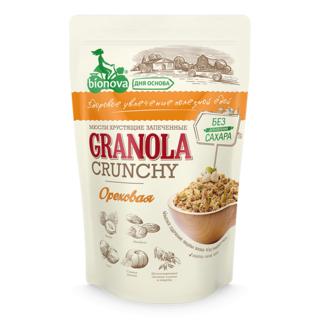 Мюсли хрустящие запеченные Bionova ореховые, 400 гр