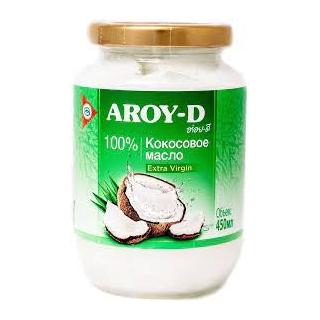 Кокосовое масло Aroy-D extra virgin, 450 мл