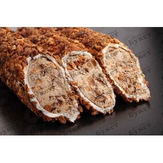 Лукум Hacibaba мега в миндале и с кремом из фундука, 1000 гр