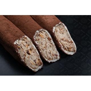 Лукум Hacibaba мега с ореховой пастой и миндалем в какао, 100 гр