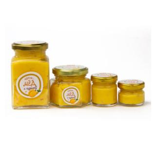 Крем-мёд с курагой, 45 гр