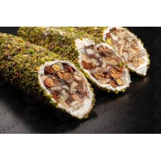 Лукум Hacibaba смесь орехов, 100 гр