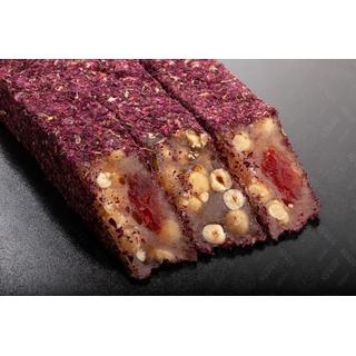 Лукум-фитиль Hacibaba с фундуком в крошке из лепестков роз, 100 гр