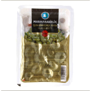 Оливки зеленые Marmarabirlik kokteyl 3XL, 500 гр